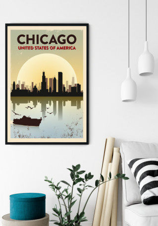 Chicago Grunge plakat