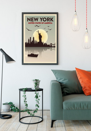 New York plakat