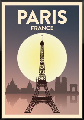 Paris plakat