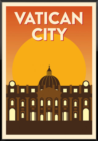 Vatican City plakat